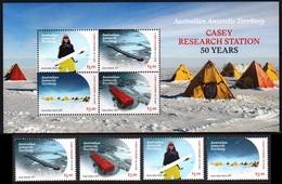 AAT Australian Antarctic Territory 2019 Casey Research Station SS + 4v MNH - Forschungsprogramme