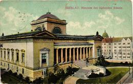 Poland, Wroclaw, Breslau, Museum, Museum Der Bildenden Künste,Old Postcard - Polonia