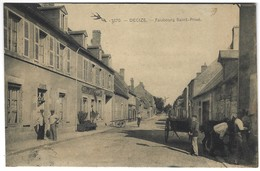 58 - Decize - Faubourg Saint Privé - Hotel De La Piste - Decize