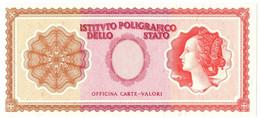 CAMPIONE SPECIMEN TEST ISTITUTO POLIGRAFICO TIPO ITALIA TRICOLORE CIRCA 1978 FDS - [ 7] Errori & Varietà