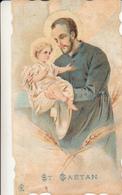 35 - Image Religieuse ST GAETAN Verso Mgr MIGNEN Archevêque De Rennes 1931 - Images Religieuses
