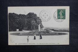 FRANCE - Oblitération Congrès De La Paix De St Germain En Laye Sur Carte Postale En 1919 - L 35127 - Marcophilie (Lettres)