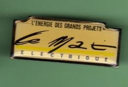 LE MAT ELECTRIQUE *** 1030 - EDF GDF