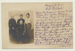 AK Foto Photo Frauen Femmes Women Von Danzig Gdansk Nach Hela 1903 - Anonyme Personen