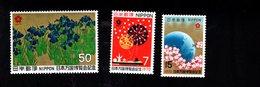 802367435 1970 SCOTT 1023 1024 1025 POSTFRIS MINT  NEVER HINGED EINWANDFREI (XX) EXPO 70 - 1926-89 Empereur Hirohito (Ere Showa)