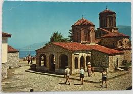 (101) Ohrid -  Macedonië - Het Meer Van Ohrid - De Kerk - Macédoine