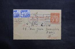 FRANCE - Carte Pneumatique De Paris + Compléments En 1947 - L 35130 - Neumáticos