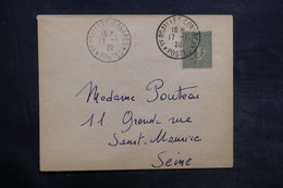 """FRANCE - Oblitération """" Versailles Congrès """" En 1920 Sur Enveloppe - L 35131 - Marcophilie (Lettres)"""