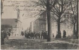 BREST - RECOUVRANCE - L'Eglise - Personnages Et Marins Devant L'Eglise ( Carte Animée ). - Brest