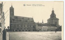 Nieuwpoort - Nieuport - Halles Et Grand'Place - The Halls And Market Place - Nieuwpoort