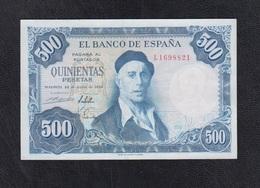 EDIFIL 468b.  500 PTAS 22 DE JULIO DE 1954 CONSERVACIÓN MBC+. - [ 3] 1936-1975 : Régimen De Franco