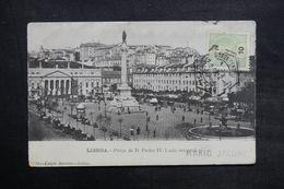 PORTUGAL - Affranchissement De Lisbonne Sur Carte Postale Pour La France - L 35137 - Lettres & Documents