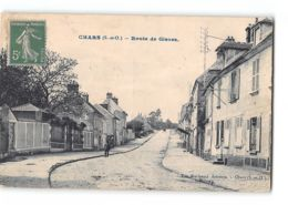 CPA 95 Chars Rue De Gisors - Chars