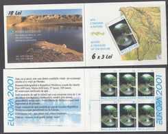 Europa Cept 2001 Moldova Booklet ** Mnh (43544) - 2001