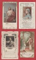 Image Pieuse - SANTINO - Holly Card - N° 250 - 4 Pc - Devotieprenten