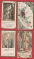 Image Pieuse - SANTINO - Holly Card - N° 249 - 4 Pc - Images Religieuses
