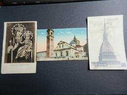 19959) TORINO MADONNA DELLA CONSOLATA - MOLE ANTONELLIANA - LA CATTEDRALE NON VIAGGIATE TRE CARTOLINE - Italie