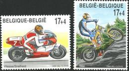 2819/2820** - Motos/Motorfietsen - BELGIQUE - BELGIË - Moto
