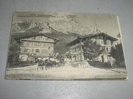 CARTOLINA HOTEL E PENSION POSTHAUS URIGEN - Postal Services