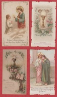 Image Pieuse - SANTINO - Holly Card - N° 242 - 4 Pc - Images Religieuses
