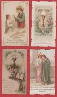 Image Pieuse - SANTINO - Holly Card - N° 242 - 4 Pc - Devotieprenten