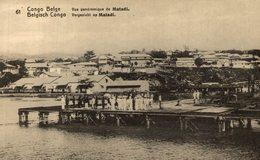 CONGO BELGE - Vue Panoramique De MATADI - Congo Belga - Otros