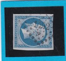 N° 14 B  PC  1452  GRENOBLE  / 37 - ISERE - REF 14112 - 1853-1860 Napoléon III