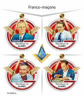 GUINEA 2019 - Freemasons. Official Issue - Freimaurerei