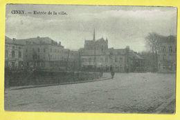 * Ciney (Namur - La Wallonie) * (Edit Paquier, Rue De Bomel) Entrée De La Ville, Vélo, Rare, Old, Unique, TOP - Ciney