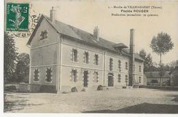 VILLEFARGEAU  -  Moulin De Villefargeau  -  Placide ROUGER  - - France