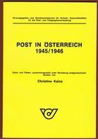 Post In Österreich  1945-1946  Christine Kainz - Philatelie Und Postgeschichte