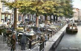 Pays-Bas - Leiden - Vischmarkt - Leiden
