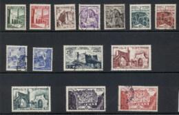 Tunisia 1954 Pictorials Asst. FU - Tunisia (1956-...)