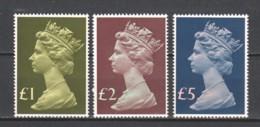 Great Britain 1977 Mi 732-734 MNH - Unused Stamps