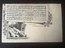 CPA - Luxembourg - ECHTERNACH MARCH POLKA POUR PIANO SOUVENIR DE LA PROCESSION DANSANTE (h) - Echternach