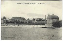 58 - Saint Léger Des Vignes - Le Barrage - Francia
