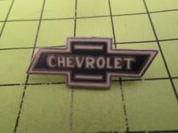 SP12 Pins Pin's / Rare & Belle Qualité THEME AUTOMOBILES / LOGO DE LA MARQUE CHEVROLET - Other