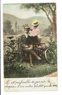 CPA - Carte Postale-Belgique - Couple : Il Est Préférable De Garnir Le Chapeau D'un Autre ...VM4696 - Couples