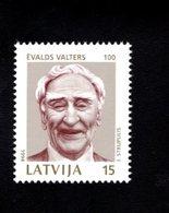 802387490 1994 SCOTT 355 POSTFRIS MINT  NEVER HINGED EINWANDFREI (XX)  EVALDS VALTERS ACTOR - Lettonie