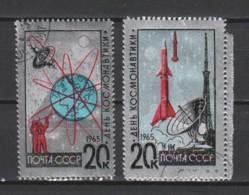 Sovjet Union 1965 Mi 3042-3043 Canceled - Used Stamps
