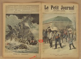 Le Petit Journal 1893 N° 122, Le Pari Des Coltineurs, Naufrage Du Labourdonnais, état Voir Photo, Journal Venant D'un En - Journaux - Quotidiens