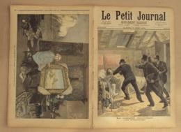 Le Petit Journal 1893 N° 132, Complot Anarchiste (arrestation), Rosa Bonheur Dans Son Atelier Par Mlle Fould (Salon De 1 - 1850 - 1899