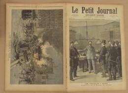 Le Petit Journal 1893 N° 139, Les Troubles à Paris Bourse Du Travail, Sapeurs-pompiers, état Voir Photo, Journal Venant - 1850 - 1899