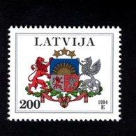 802388756 1994 SCOTT 378 POSTFRIS MINT  NEVER HINGED EINWANDFREI (XX)  PROVINCIAL MUNCIPAL ARMS - NATIONAL ARMS - Lettonie