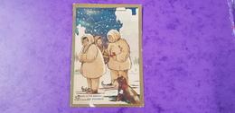 PARIS Image Chromo CHOCOLAT EXPRESS GRONDARS Le Berceau Des Esquimaux Phoque ( Scène Hivernale Neige Hiver Glace ) - Chocolate