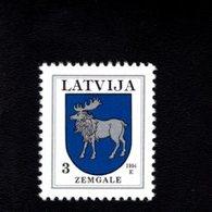 802388957 1994 SCOTT 365 POSTFRIS MINT  NEVER HINGED EINWANDFREI (XX)  PROVINCIAL MUNCIPAL ARMS - ZEMGALE - Lettonie