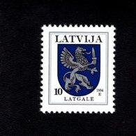 802389254 1994 SCOTT 368 POSTFRIS MINT  NEVER HINGED EINWANDFREI (XX)  PROVINCIAL MUNCIPAL ARMS - LATGALE - Lettonie