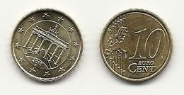10 Cent, 2018,  Prägestätte (A),  Vz, Sehr Gut Erhaltene Umlaufmünzen - Germania
