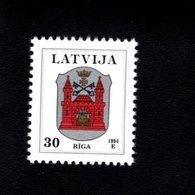 802389599 1994 SCOTT 374 POSTFRIS MINT  NEVER HINGED EINWANDFREI (XX)  PROVINCIAL MUNCIPAL ARMS - RIGA - Lettonie