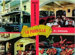 MALLORCA .. EL ARENAL .. RESTAURANT LA PARRILLA ..  VOITURE FORD ?? - España